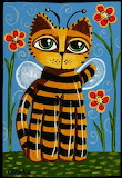Honey Cat by Cindy Bontempo