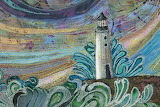 ^ Somewhere Beyond the Sea fabric quilting