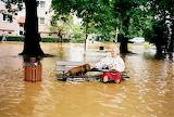 Hochwasser in Dresden mit Alka