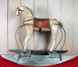 ^ Wooden Horse Folk Art