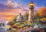 beautiful lighthouse seaside