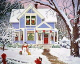 Christmas Art by John Sloane @ wallpaperfolders.com...