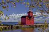 Holland Harbour Lighthouse. Michigan