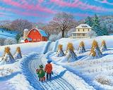 Home from School by John Sloane...