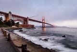 Fort Point with Golden Gate Bridge