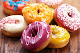 #Mixed Iced Donuts