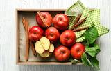 ^ Apples