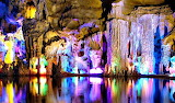 Colorful Reed Flute Cave Guillin China