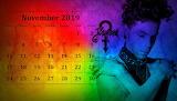 Prince November calendar wallpaper