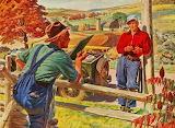 Farm Talk~ Vintage GoodYear Ad RexWoods