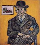 Joan Miró, Portrait de Heriberto Casany, 1918