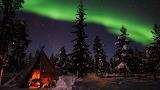 Sweden,Northern lights