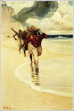 We Started to Run Back to the Raft (Howard Pyle)