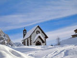 Church In The Mountain and Heavy Snowfall