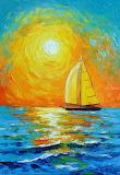 Morning-sailboat-Olga Darchuk