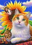 Sunflower Kitty