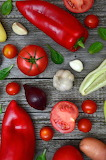 Rotes Gemüse