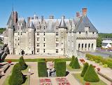Chateau de langeais, Court yard, France