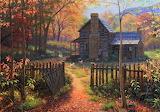 ^ Autumn at the Cottage ~ Mark Keathley