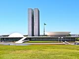 Brazilië Brasilia Congres-Gebouw