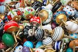 Victorian ceramic doorknobs