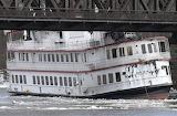 Loose boat in the Hudson