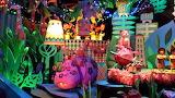Disneyland Small World Purple Hippo 2013