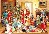 Colours-colorful-victorian-Christmas-painting