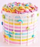#Rainbow Party Cake