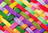 #Colorful Thread Weave