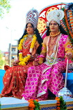 Various 898 colourful costumes India