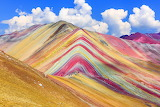 Cusco painted mountains
