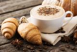 Coffee Cappuccino Croissant Star anise Illicium
