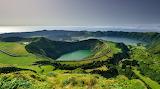 The Azores,Lago del crater, Portugal