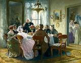 The Christening Reception~ Johann Hamza fine art 2 b