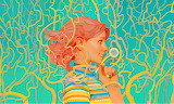 abstract fantasy girl