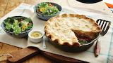 ^ Reuben Pot Pie and Salad