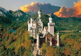 Zamek Neuschwanstein jesienią