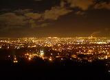 Nocna panorama z Pachołka
