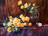 Flores pintadas