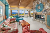 Mid Century Seattle Beachfront Sitting Room