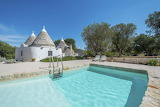 Luxury Trullo villa in Puglia with pool