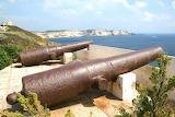 Bonifacio Fortress cannons - France