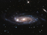 """Space ESA NASA """"Hubble surveys gigantic galaxy"""" """"Galaxy UGC 2885"""