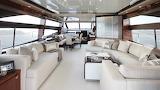 Interior of luxury yacht2