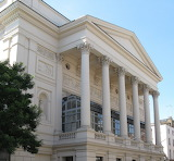 Edward Barry facade, Royal Opera Hs, London