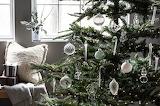 Cozy Elegant Home Glass Ornaments Christmas Tree