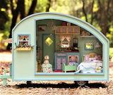 #Miniature Dollhouse Caravan
