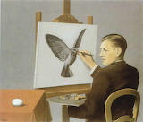 René Magritte, Perspicacité, 1936