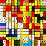 Colorful dominoes